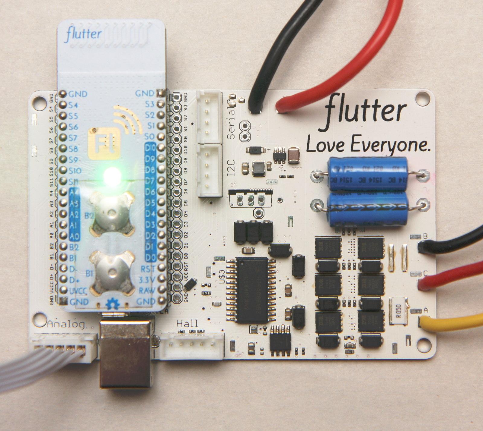 VESC mods for robotics use - machines - reboot love